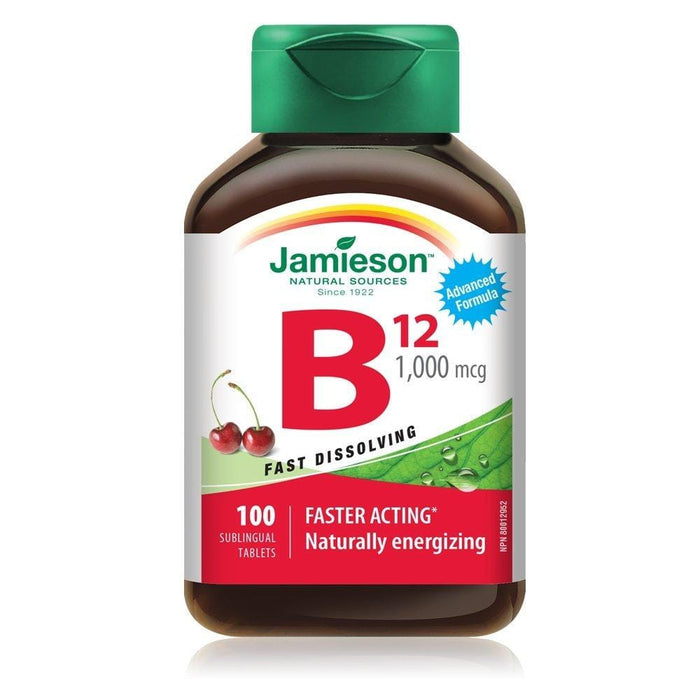 Jamieson Vitamin B12 1000 mcg 100 Tablets
