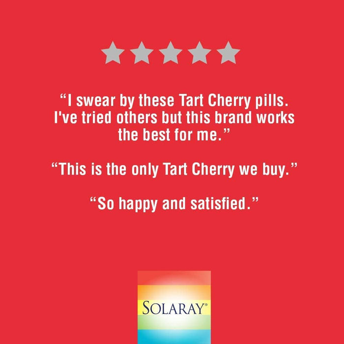 Solaray Tart Cherry Fruit Extract 425mg 90 V-Caps