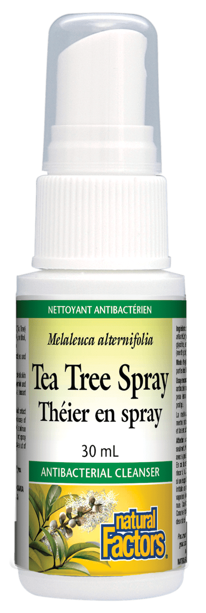 Natural Factors Tea Tree Spray