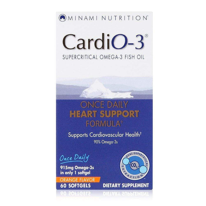 Minami Nutrition CardiO-3 (Short Dated)