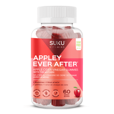 Suku Vitamins Appley Ever After 60 Gummies -Apple Cider Vinegar Flavour