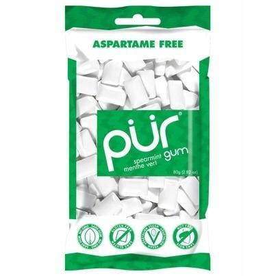 PUR Sugar-Free Gum 55pc Bag - Spearmint
