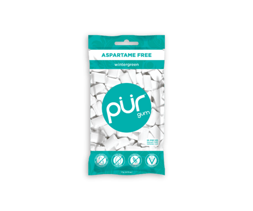 PUR Gum Wintergreen 57 pcs
