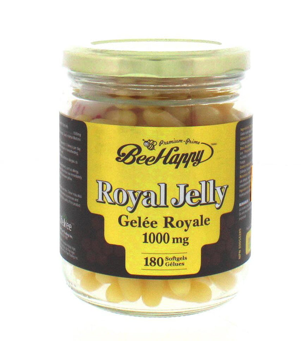 Bee Happy Royal Jelly 1000 mg 180 Softgels