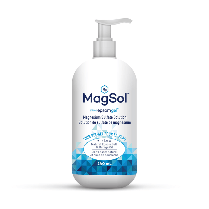 Epsomgel Magsol Magnesium Sulfate Solution