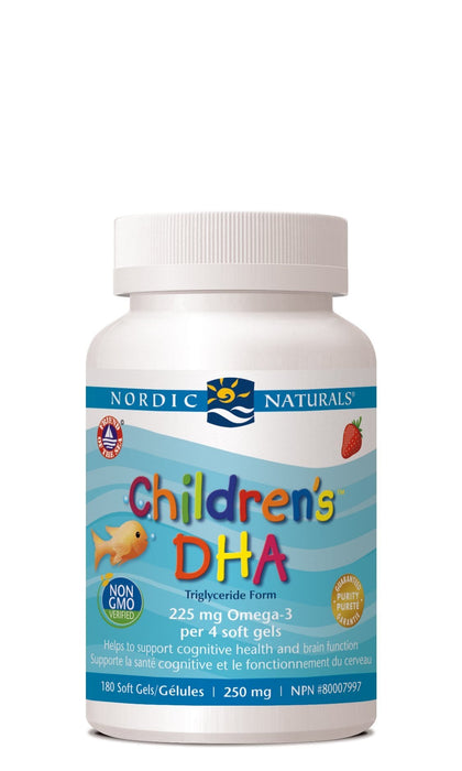 Nordic Naturals Children's DHA - Strawberry Flavour