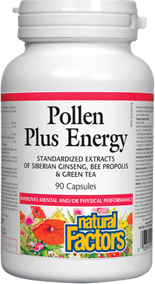 Natural Factors Pollen Plus Energy