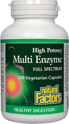 Natural Factors Multi Enzyme Full Spectrum