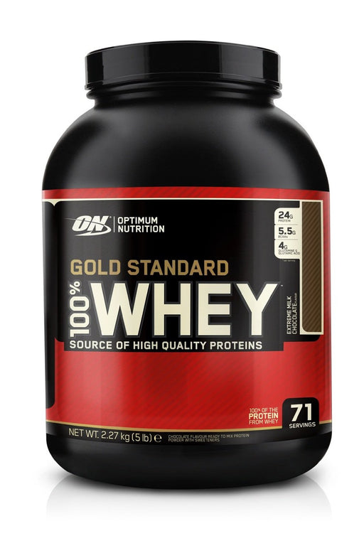 Optimum Nutrition Gold Standard 100% Whey - Extreme Milk Chocolate 5lb
