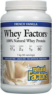Natural Factors Whey Factors - French Vanilla