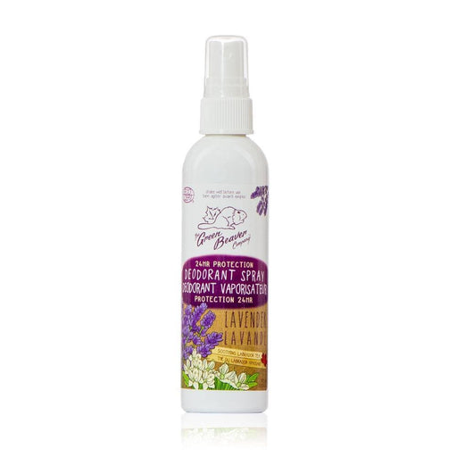 Green Beaver Deodorant Spray Lavender