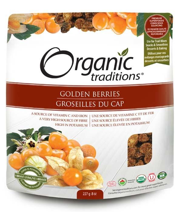 Organic Traditions Golden (Inca) Berries