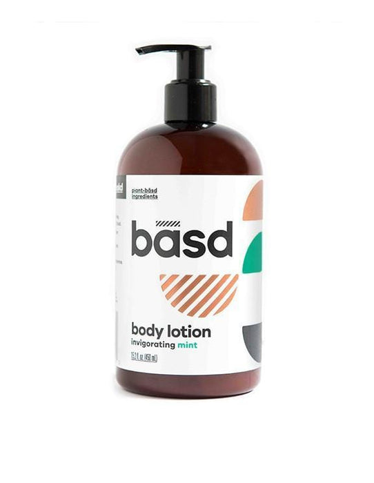 Basd Body Lotion Invigorating Mint 450 ml