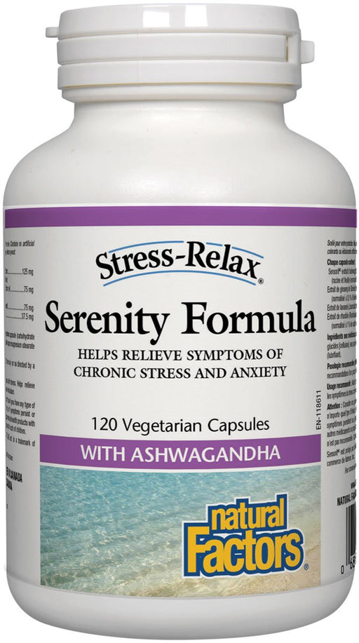 Natural Factors Stress-Relax Serenity Formula, 120 Capsules