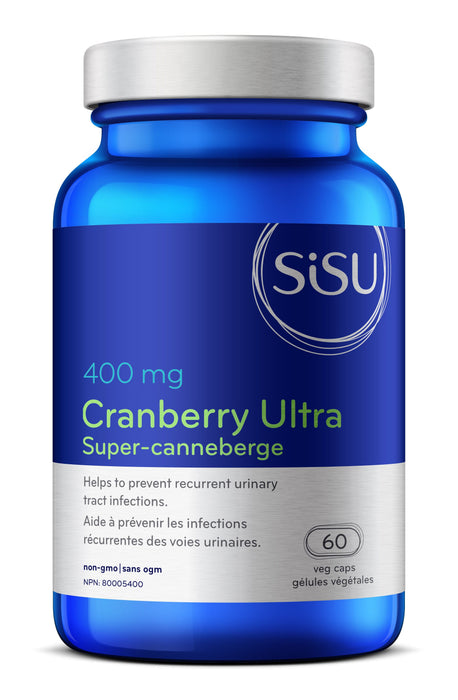 Sisu Cranberry Ultra 400 mg