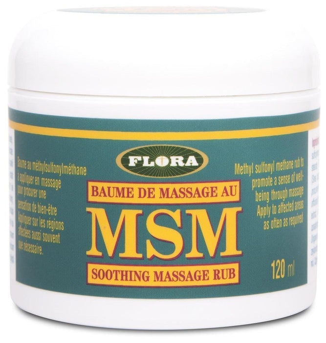 Flora MSM Soothing Massage Rub 120 ml