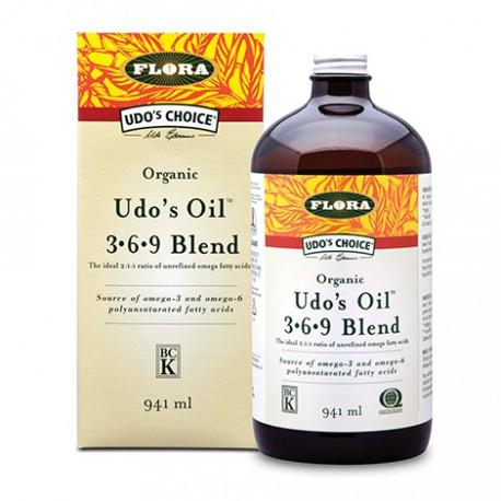 Flora Udo's Choice Organic Udo's Oil 3+6+9 Blend 941 ml