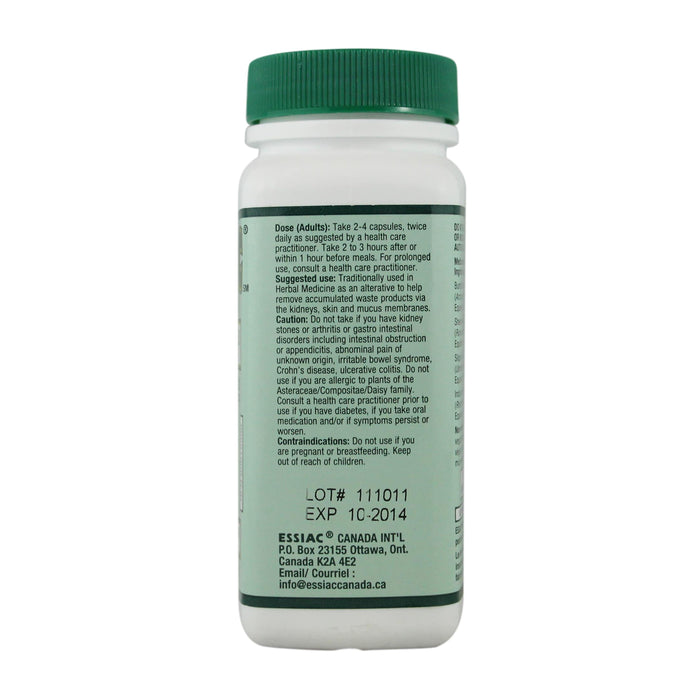 Essiac 500 mg Vegetable Capsules