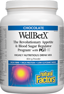 Natural Factors WellBetX Meal Replacement - Chocolate, 854 g