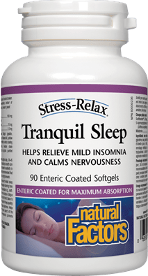 Natural Factors Tranquil Sleep Stress-Relax