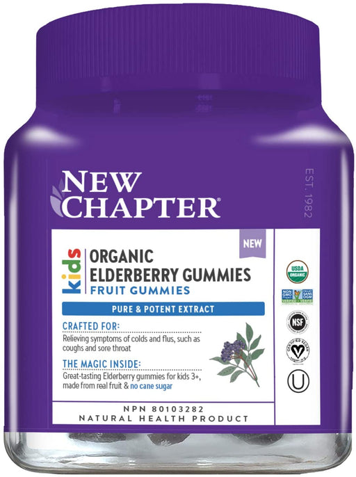 New Chapter Kids Organic Elderberry Gummies