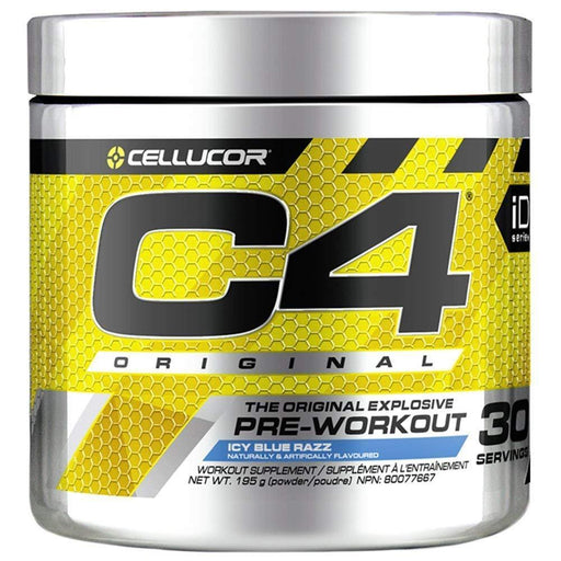 Cellucor C4 Original Pre-Workout Icy Blue Razz 195 g (Short Dated)