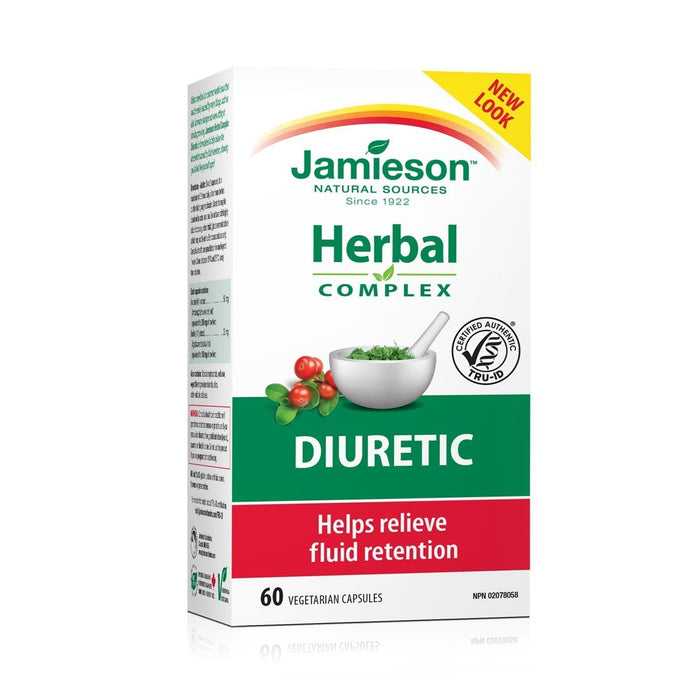 Jamieson Herbal Complex Diuretic 60 Capsules