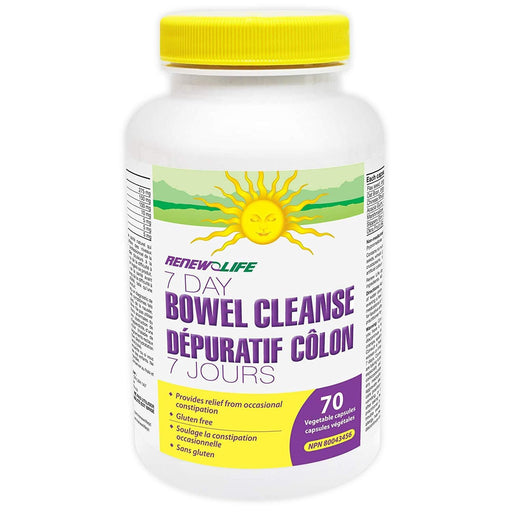 Renew Life 7 Day Bowel Cleanse 70 Capsules