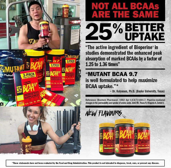 Mutant BCAA 9.7 348 g - Sweet Iced Tea