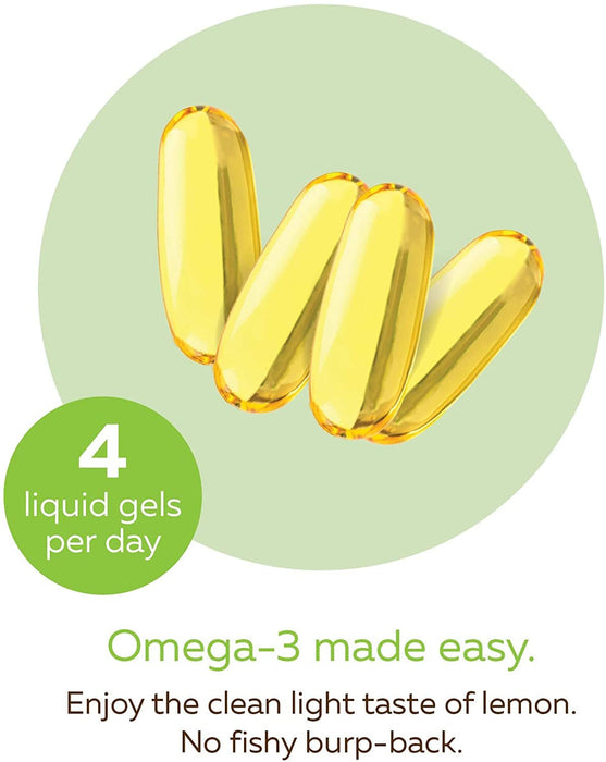 Ascenta NutraSea Omega3 (Lemon) 240 Softgels