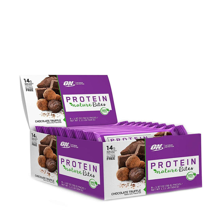 Optimum Nutrition Protein Nature Bites Chocolate Truffle 9 x 56 g