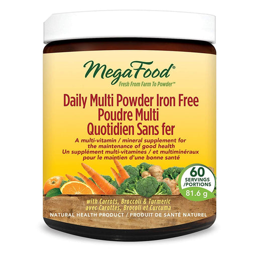 MegaFood Daily Multi Powder Iron Free 81.6 g
