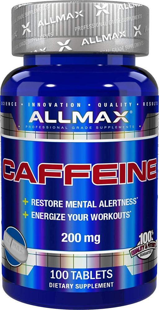 ALLMAX Caffeine 200 mg 100 Tablets