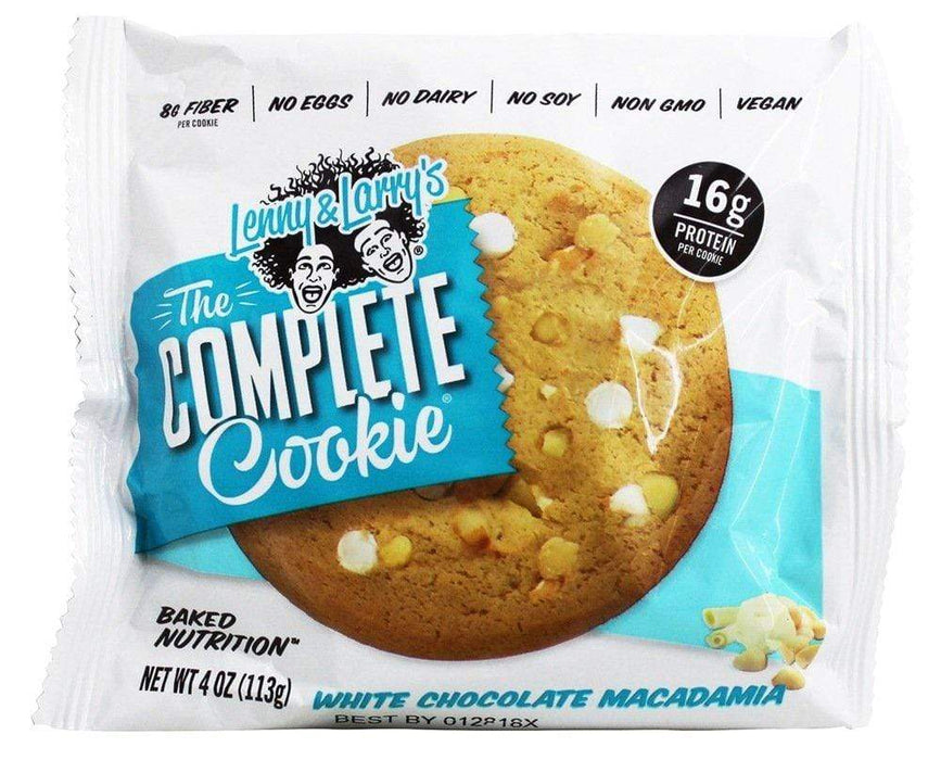 Lenny & Larry's The Complete Cookie White Chocolate Macadamia 113 g (Short Dated)