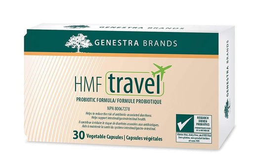 Genestra HMF Travel Probiotic 30 Capsules
