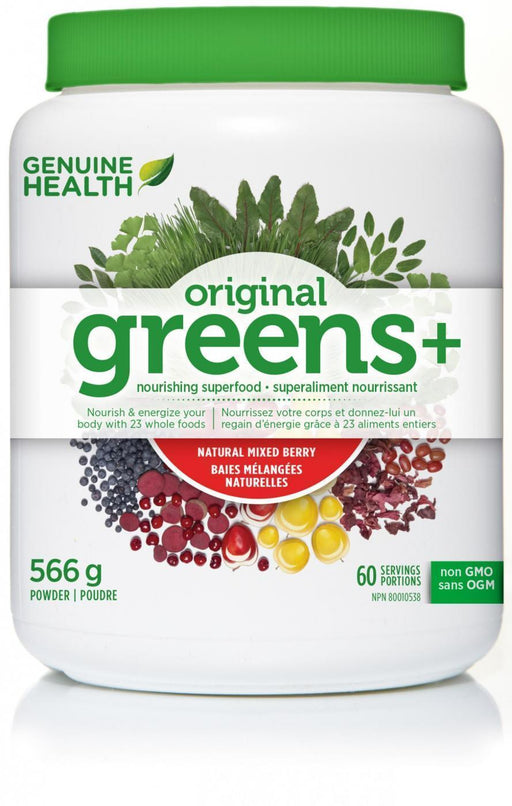 Genuine Health greens+ Mixed Berry Flavour