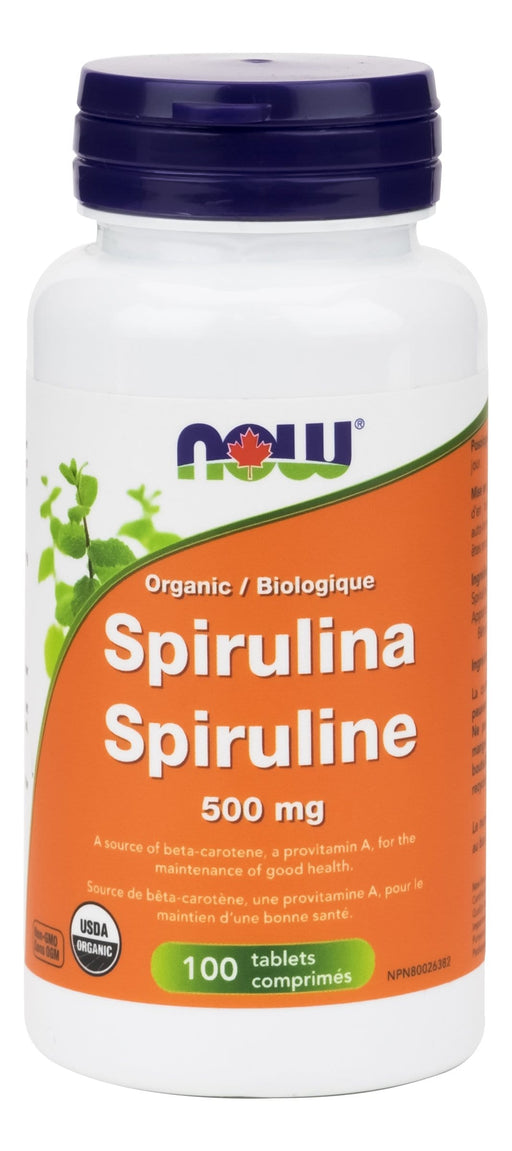 NOW Spirulina Tablets