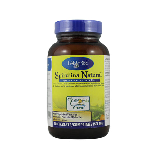 Earthrise Spirulina Natural 180 Tabs