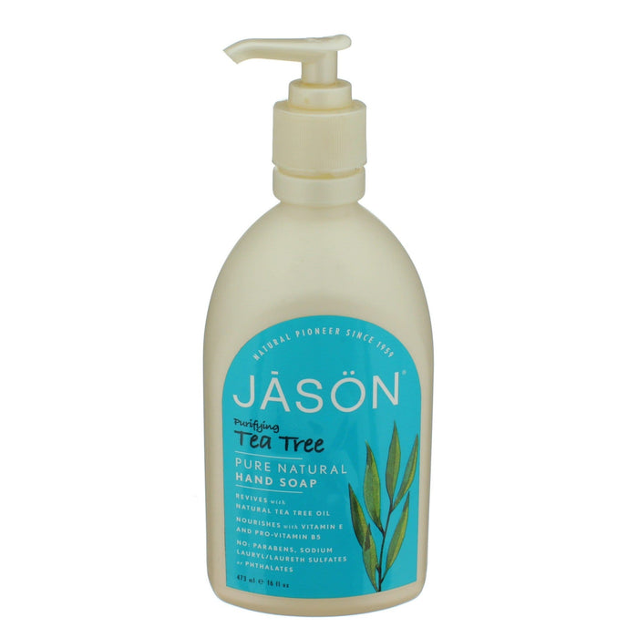 Jason Tea Tree Oil Hand Soap 473 ml