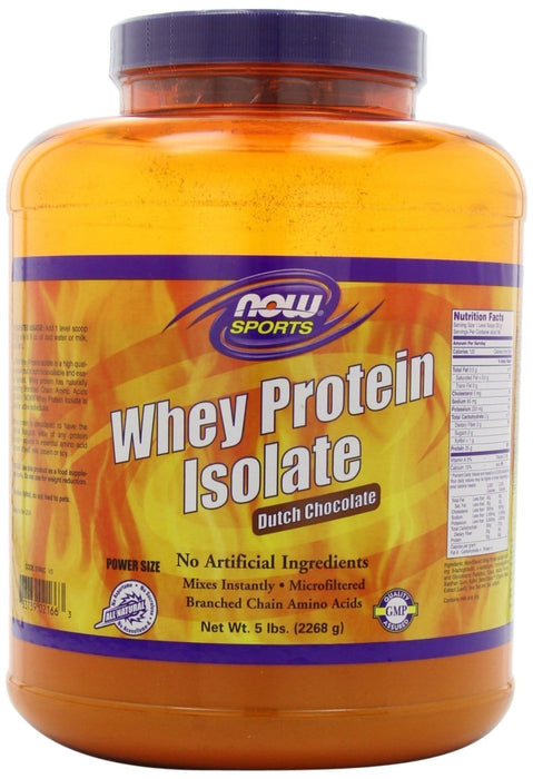 NOW Whey Protein - Isolate Chocolate Flavour -DISCO
