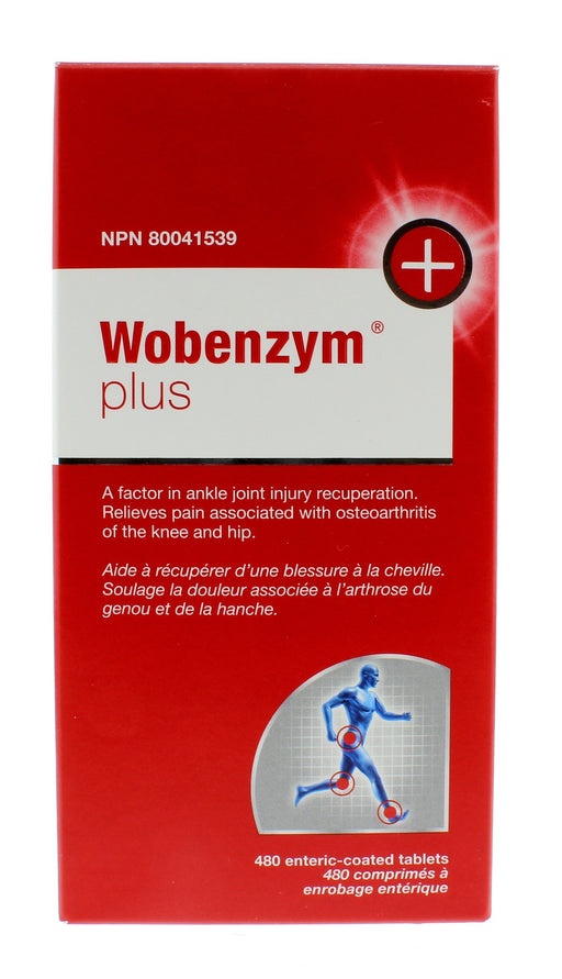 Mucos Wobenzym Plus 480 Tablets