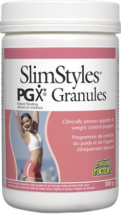 Natural Factors SlimStyles PGX Granules Unflavoured, 300g