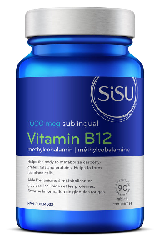 Sisu Vitamin B12 1000 mcg Sublingual