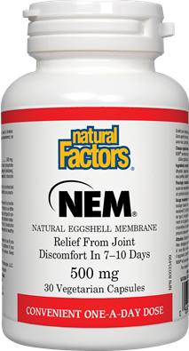 Natural Factors NEM - Natural Eggshell Membrane