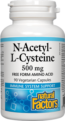 Natural Factors N'acetyl Cysteine (NAC)
