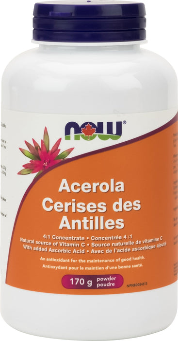 NOW Acerola 4:1 Extract Powder 171 g