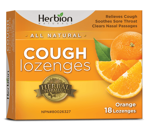 Herbion Naturals Cough Lozenges Orange
