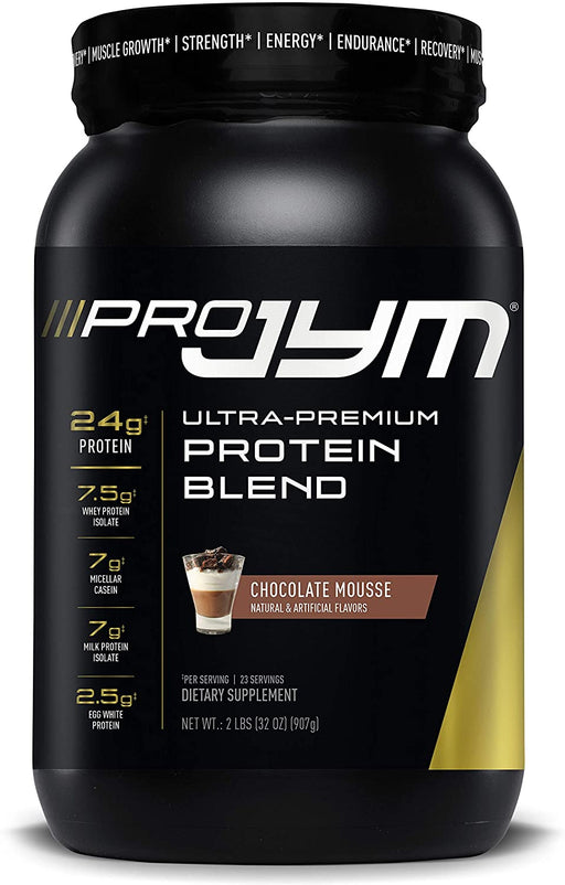 JYM PRO Protein Blend 2 lb 23 Servings - Chocolate Mousse