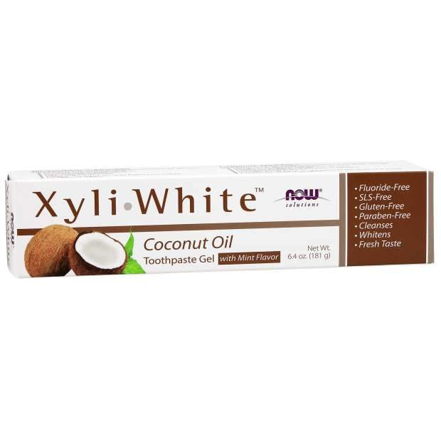 NOW XyliWhite™ Coconut Oil Toothpaste Gel