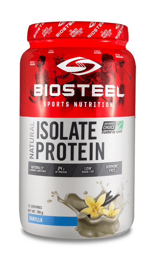 BioSteel Natural Whey Isolate Plus Vanilla